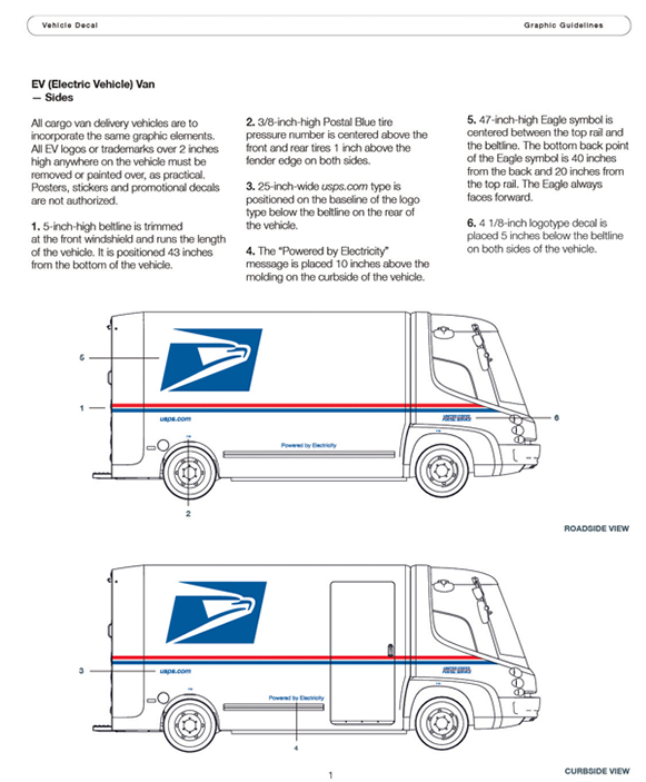 USPS Electric Vehicle